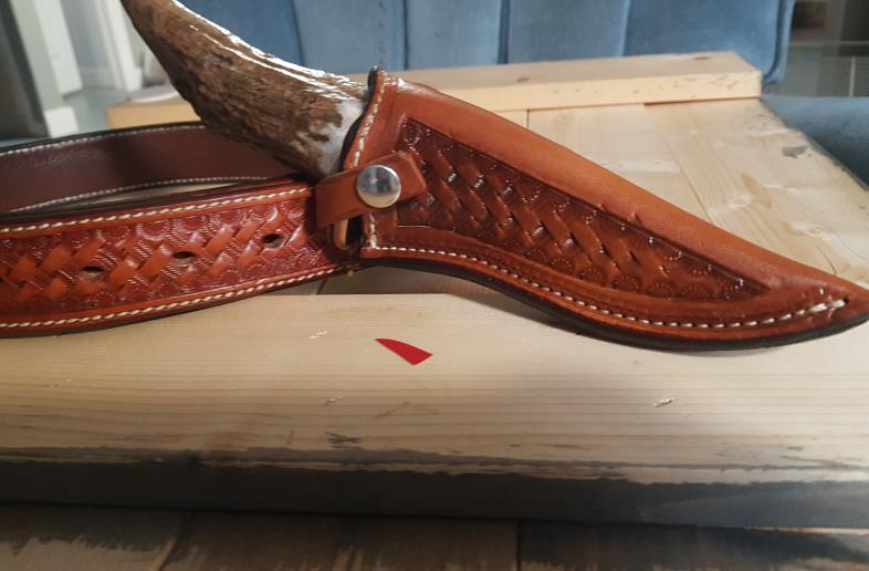 Custom leatherwork  Call or text Rob @ 250-574-6838