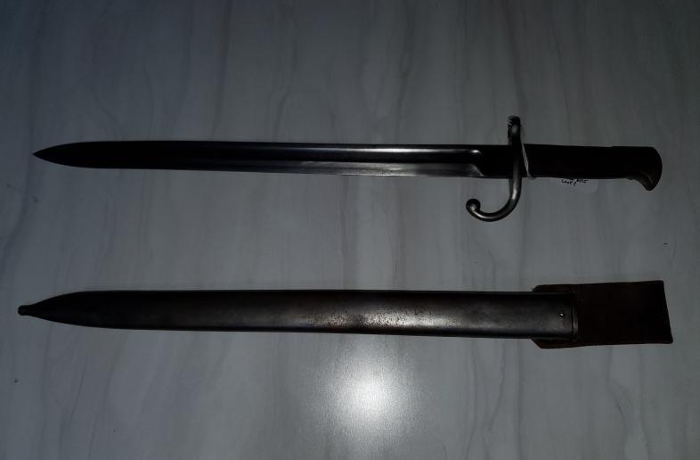 Remington 1899 rolling block bayonet