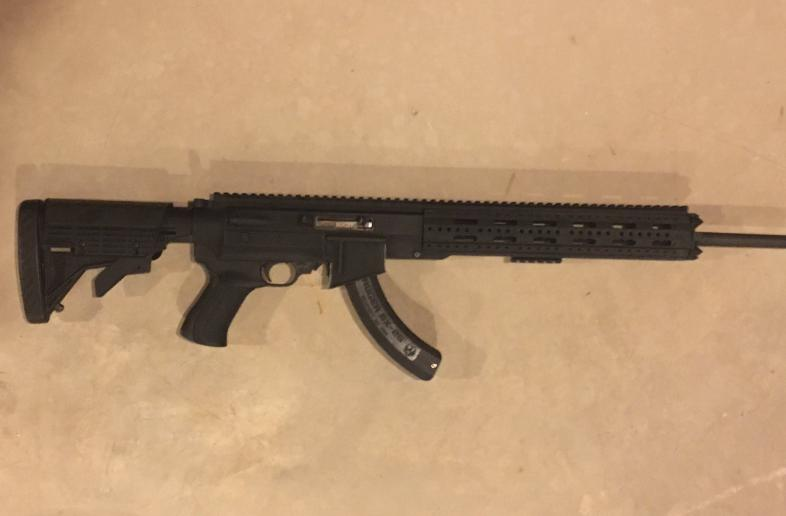 Brand New - Ruger 10/22 with AR-22 Aluminum Stock - Adjustable Stock