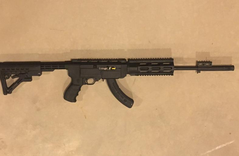 Brand New - Ruger 10/22 with Archangel AR-15 Style - Adjustable Stock