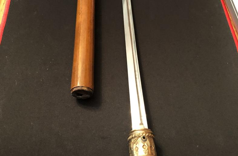 Antique Walking Stick Knife, with Providence.