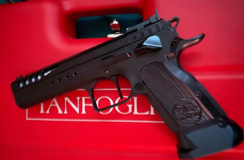 Tanfoglio Limited Custom Black