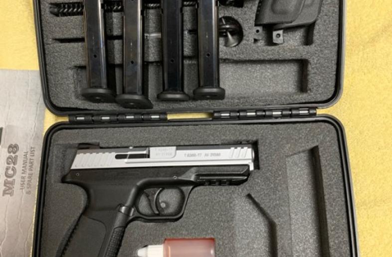 GIRSAN MC28 SA 9mm-STAINLESS STEEL+4 MAGS+FREE SHIPPING