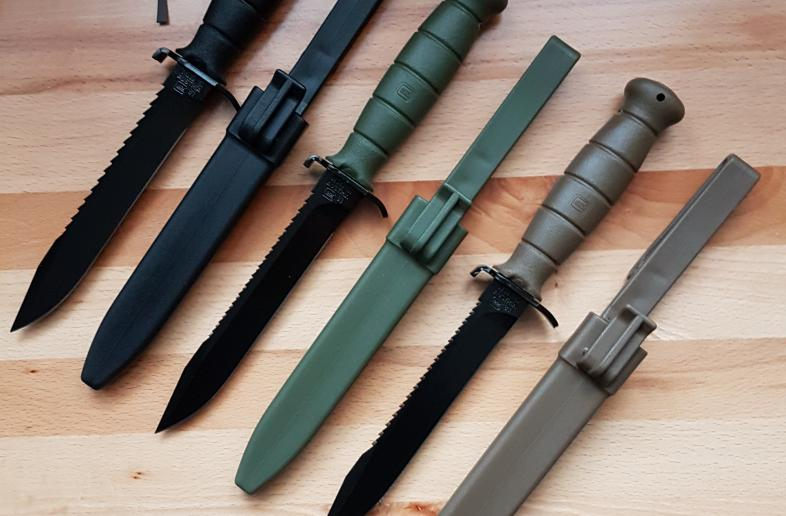 GLOCK FIELD KNIVES