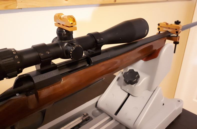 Ring lapping, Scope Mounting and Zeroing
