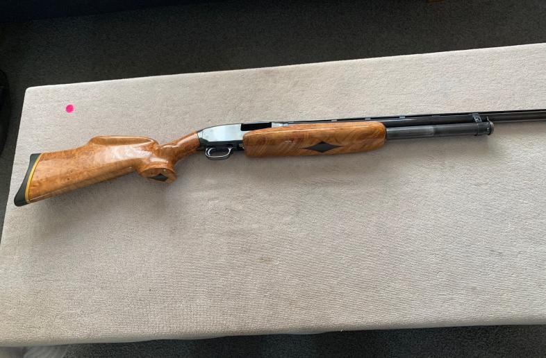 Winchester model 12 BC centennial