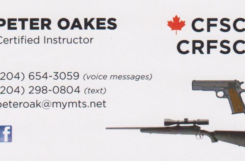 CFSC/CRFSC courses Winnipeg