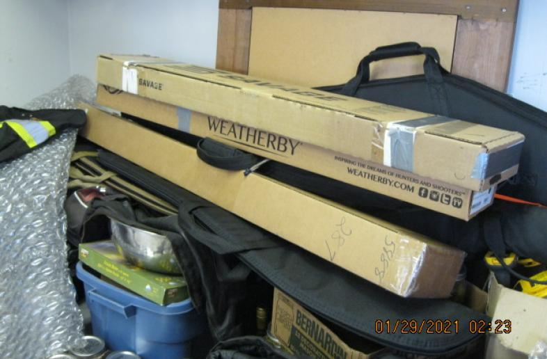 Wanted any empty gun boxes you might have laying around