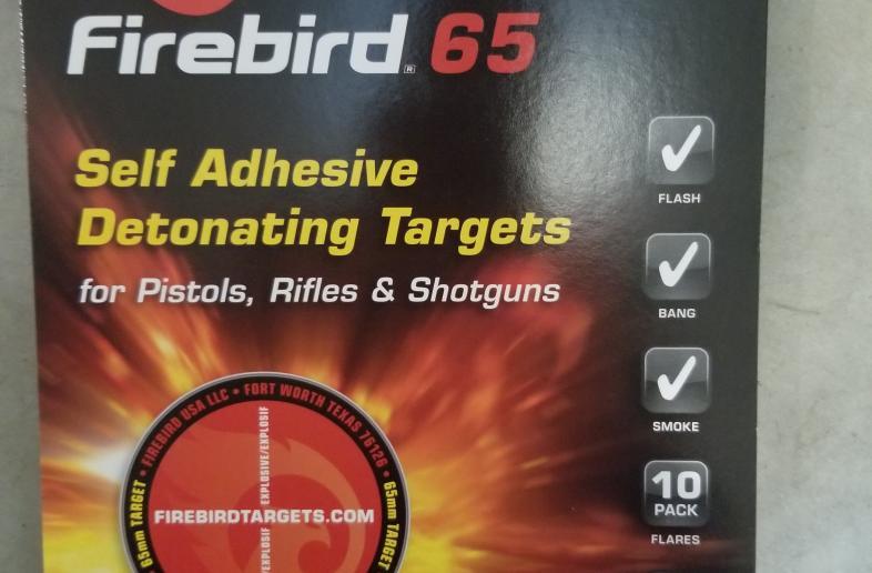 Firebird 65 reactive targets