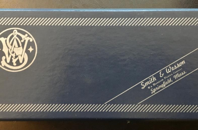 1976 Genuine Vintage Smith & Wesson Box for 357 Combat Magnum