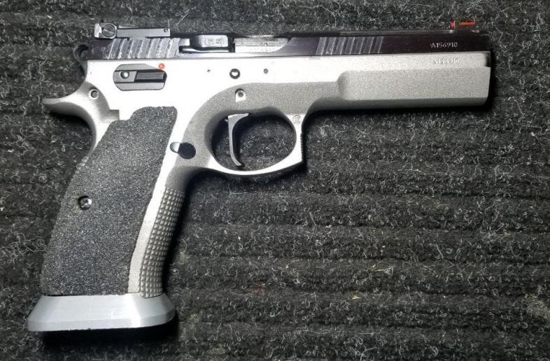 CZ 75 Tactical Sport Dual Tone .40 S&W