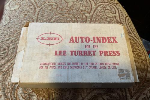 Lee Auto Index for The Lee Turret Press